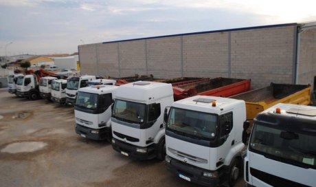 Location camion travaux publics Rivesaltes